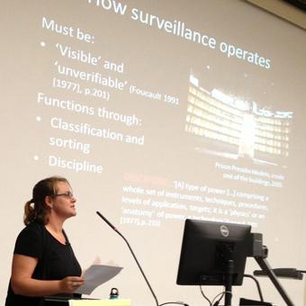 Surveillance lecture, Creative Arts